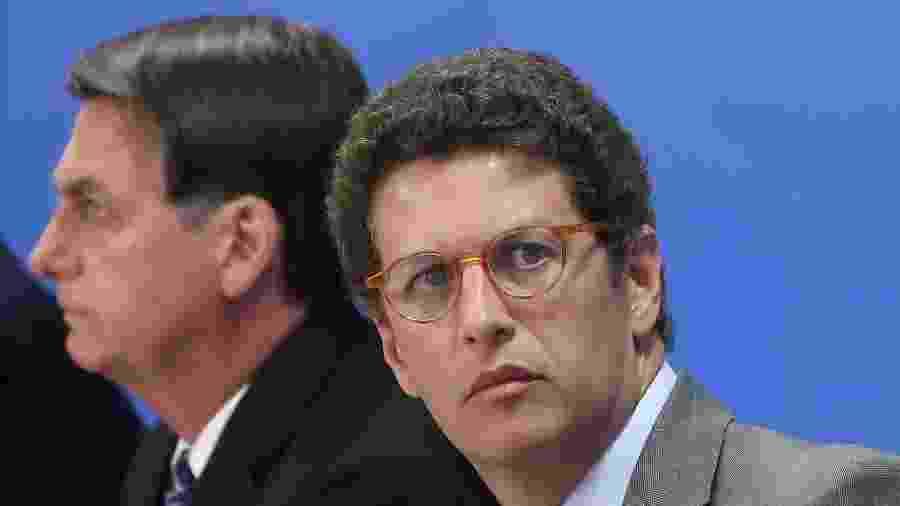 Ricardo Salles, ministro do Meio Ambiente, preside o Conama (Conselho Nacional do Meio Ambiente) - Marcos Corrêa/PR
