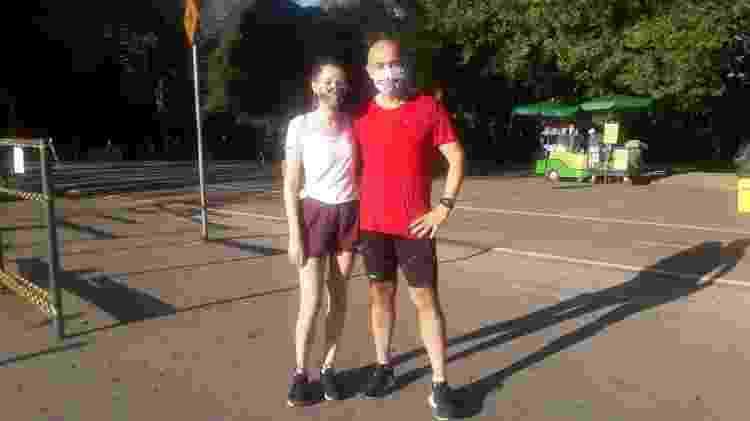 Pai e filha correm juntos - Wanderley Preite Sobrinho/UOL - Wanderley Preite Sobrinho/UOL