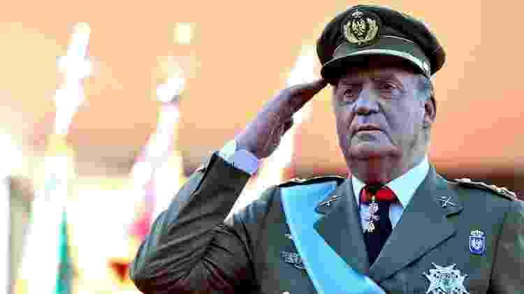 Juan Carlos 1º foi rei da Espanha de novembro de 1975 a junho de 2014 - Getty Images - Getty Images