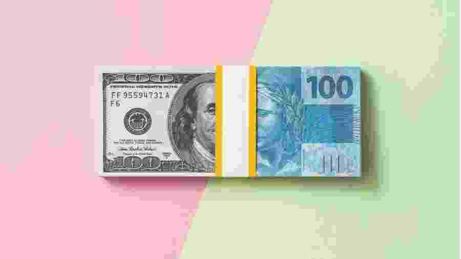 Real perdeu quase 30% do valor ante a moeda americana neste ano - Getty Images