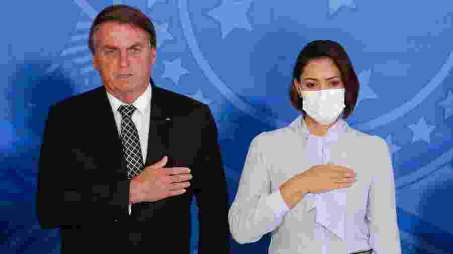 O presidente Jair Bolsonaro critica a maneira com que o prefeito de Belo Horizonte tem conduzido políticas de combate ao coronavírus - Anderson Riedel/PR