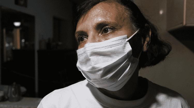 Rosalba Pimentel tem 58 anos e vive em Maracay - BBC - BBC