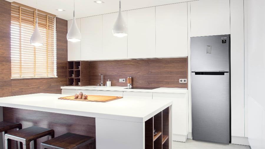 As geladeiras da linha Evolution custam de R$ 3.399 a R$ 4.199 - Katarzyna Bialasiewicz/Samsung