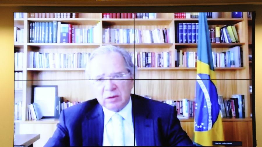 O ministro da Economia, Paulo Guedes - Gustavo Sales/Câmara dos Deputados