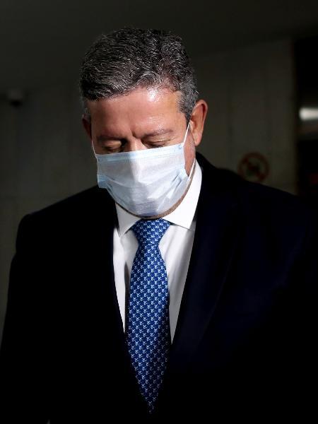 10.ago.2021 - O presidente da Câmara, deputado Arthur Lira (PP-AL), caminha pelos corredores do Congresso - Gabriela Biló/Estadão Conteúdo