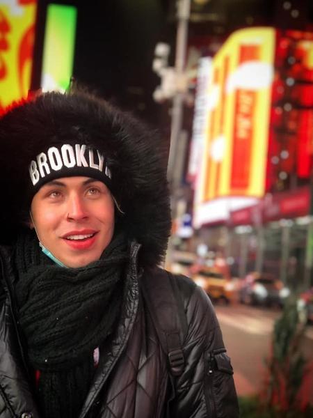 Maik Uchôa, 25, foi para os Estados Unidos em setembro de 2020, no meio da pandemia - Arquivo pessoal