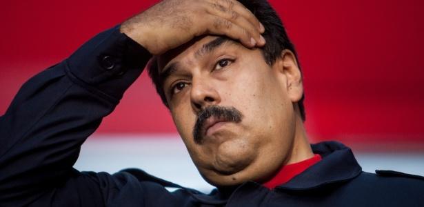 Nicolás Maduro foi eleito em abril de 2013 por um período de seis anos - Miguel Gutiérrez/Efe