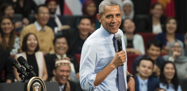 Obama diz que não vai ceder na luta contra o Estado islâmico - Saul Loeb/AFP