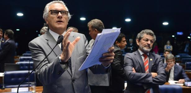 Para Caiado, Dilma não pode alegar desconhecimento - Ana Volpe/Agência Senado