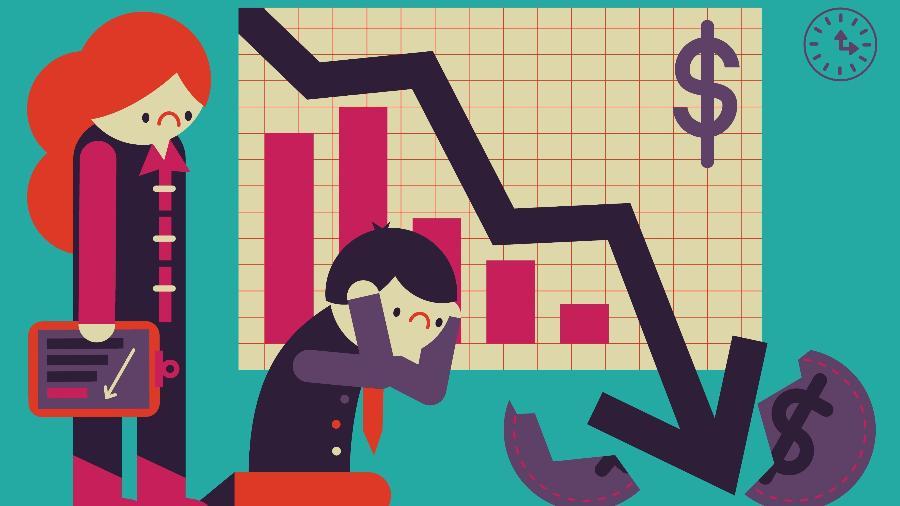 Índices de confiança nos serviços e na indústria no Brasil caíram pelo segundo mês consecutivo em fevereiro - iStock/TeamOktopus