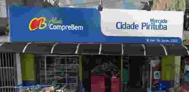 Imagem mostra como deve ficar a fachada das lojas parcerias - Divulgação