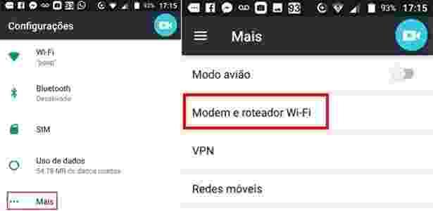 Android 1 - Como compartilhar sua internet do celular e transformar em Wi-Fi - UOL - UOL