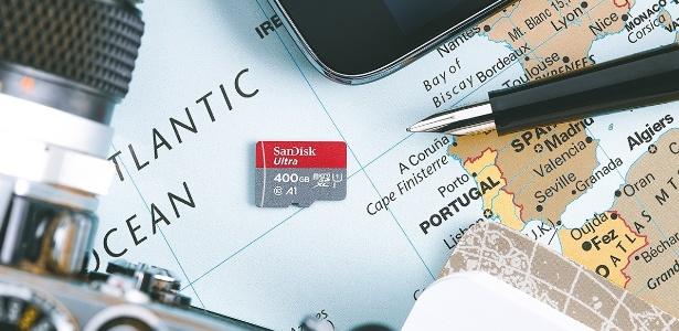 SanDisk lança cartão de memória com 400GB