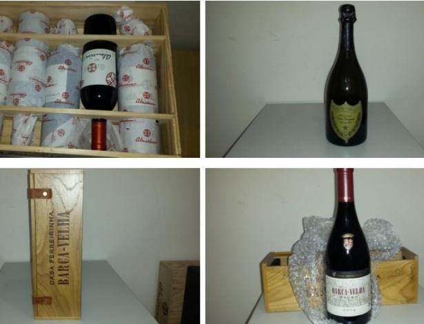 """Vinhos caríssimos fazem parte de leilão de bens de """"Cabeça Branca"""", considerado pela Polícia Federal como o """"traficante mais procurado da América do Sul"""""""