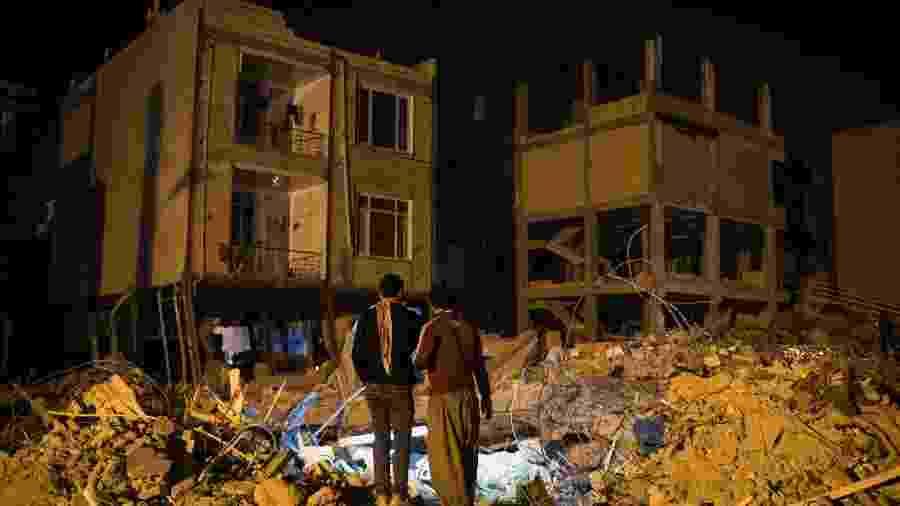 Irã é um país que registra um número grande de terremotos por ano - Arash Khamooshi/The New York Times