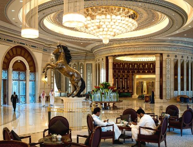 O hotel Ritz-Carlton, em Riad, foi o local escolhido pelo governo saudita para deter empresários e membros da família real