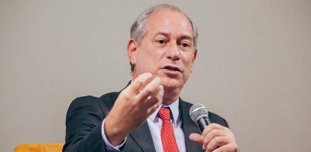 12.mar.2018 - Ciro Gomes, pré-candidato à Presidência da República pelo PDT, durante evento em SP