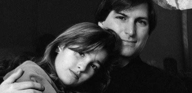 Após negar paternidade, Steve Jobs manteve uma relação fria com a filha