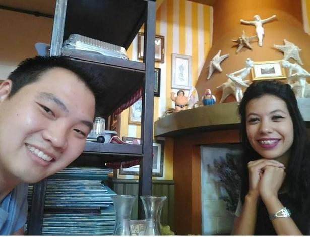 O casal de namorados Eric e Camila, atropelados em Suzano (SP) por um motorista embrigado; ela morreu no local - Reprodução/Facebook