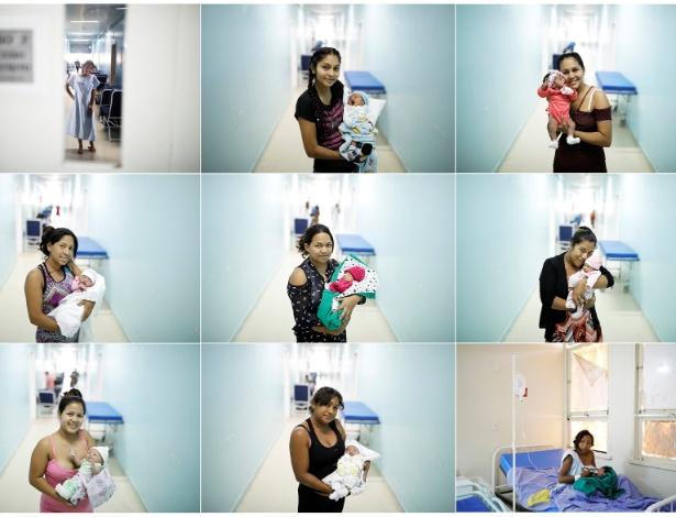 Mulheres venezuelanas cruzam a fronteira para ter bebê no Brasil - REUTERS/Nacho Doce