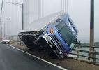 Tufão Jebi, o mais forte dos últimos 25 anos, atinge o Japão - JIJI PRESS / various sources / AFP