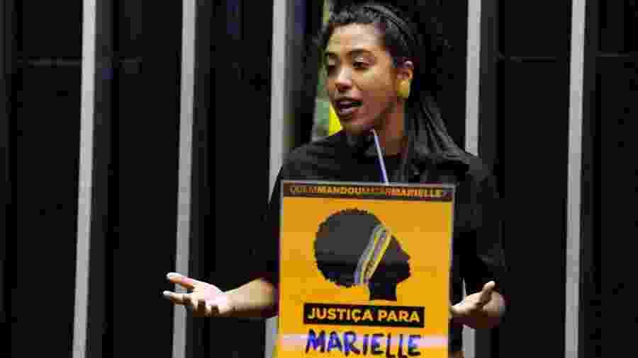 A deputada federal Talíria Petrone (PSOL-RJ) é uma das parlamentares negras eleitas no último pleito - Cleia Viana/ Câmara dos Deputados