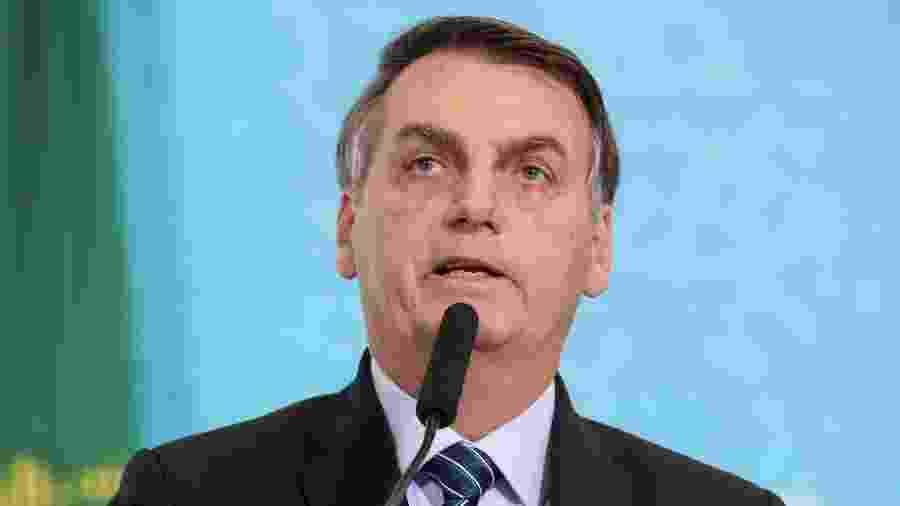 O presidente Jair Bolsonaro informou que vai revogar medida que retirava 17 profissões do programa MEI - Isac Nóbrega/PR