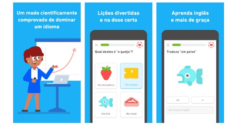 Duolingo: aplicativos para aprender ainda mais - Reprodução - Reprodução