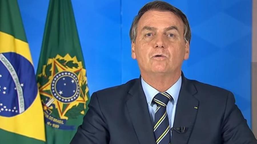 Bolsonaro cita R$ 800 bi em recursos e prevê economia recuperada em 1 ano - TV BRASILGOV/ YOUTUBE