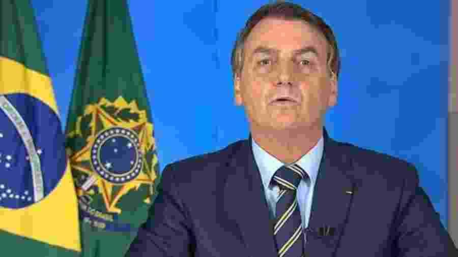 Vídeo do presidente Jair Bolsonaro foi removido pelo Facebook e pelo Instagram - TV BRASILGOV/ YOUTUBE
