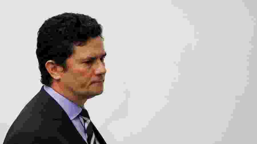 Ex-ministro Sergio Moro anuncia demissão em coletiva de imprensa em Brasília - Ueslei Marcelino