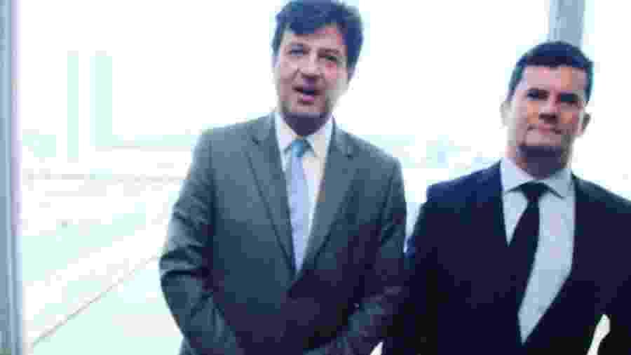"""O ex-ministro da Saúde Luiz Henrique Mandetta afirmou que Sergio Moro trava """"dura batalha"""" no país - Reprodução/Instagram/@henriquemandetta"""