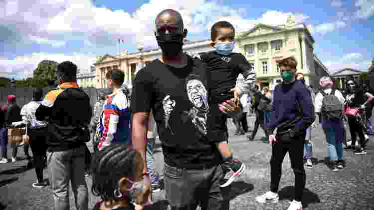 protesto paris - ANNE-CHRISTINE POUJOULAT/AFP - ANNE-CHRISTINE POUJOULAT/AFP