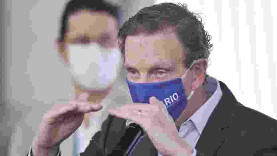 Decisão vem um dia depois de a Câmara rejeitar a admissibilidade do impeachment de Crivella - Saulo Angelo/Futura Press/Estadão Conteúdo