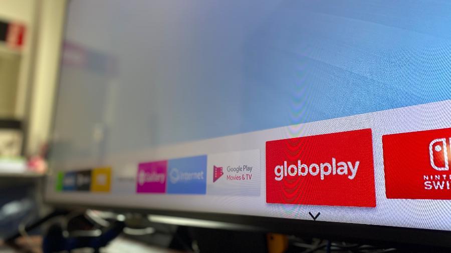 App da Globoplay não funcionará mais à parte, mas sim dentro do sistema da TV da Samsung - Gabriel Francisco Ribeiro/UOL