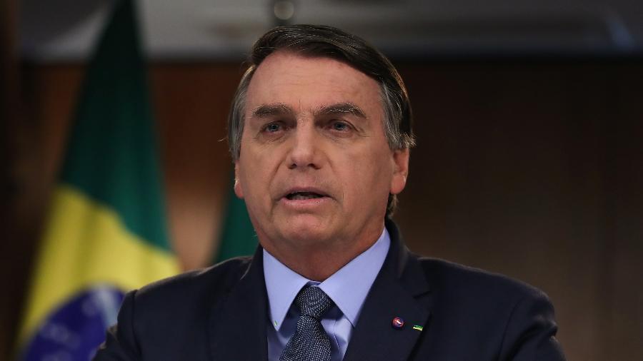 Jair Bolsonaro (sem partido) chegou aos 900 dias de governo sob protestos e crises - Marcos Corrêa/PR