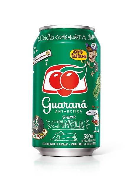 Guaraná Antarctica sabor canela  - Divulgação/Guaraná Antarctica