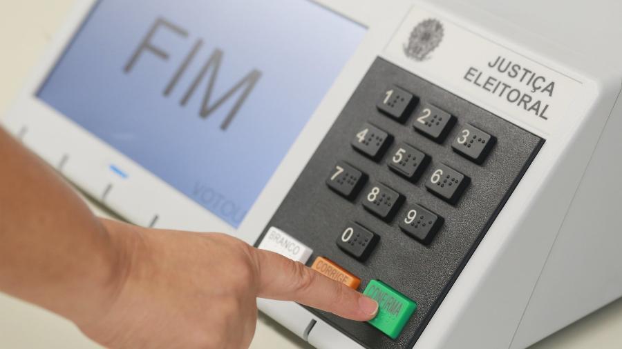 Urna eletrônica - Antonio Augusto/Ascom/TSE