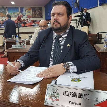 O vereador de São José do Rio Preto Anderson Branco, do PL - Reprodução/Facebook