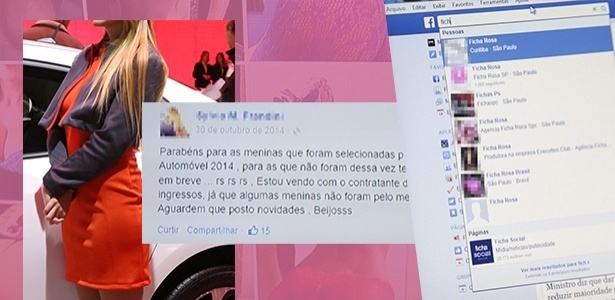 Internet é Terreno Fértil Para Agenciar Garotas Ficha Rosa