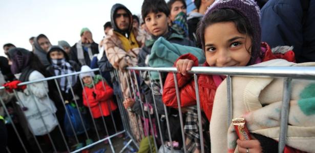 Por fazer fronteira com a Croácia, a Bósnia se tornou uma nova alternativa para muitos refugiados que fogem de conflitos no Oriente Médio e na África