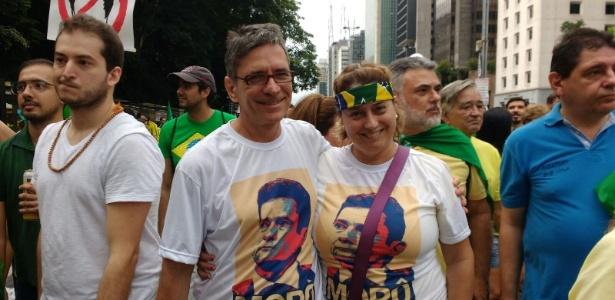 Diversidade de alvos expõe exaustão da política - Bernardo Almeida/UOL