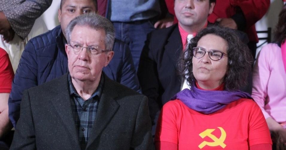 5.ago.2016 - Raul Pont será o candidato à Prefeitura de Porto Alegre pelo Partido dos Trabalhadores (PT). Silvana Conti (PCdoB) integra a chapa como vice