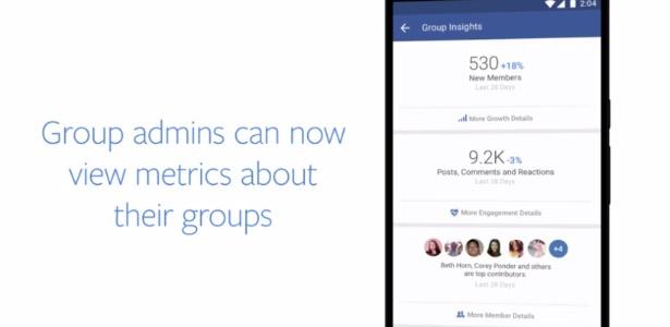 Facebook apresenta novidades para administradores e membros de grupos