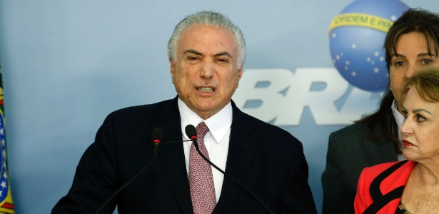 O presidente da República, Michel Temer (PMDB), fez um pronunciamento após ser denunciado pela PGR