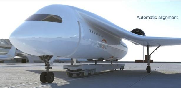 Projeto do Link & Fly, da Akka Technologies - Divulgação