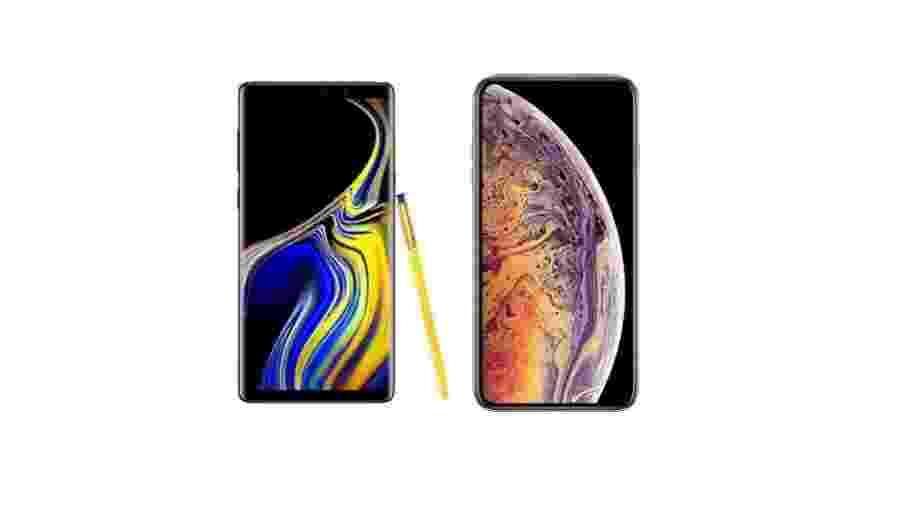Galaxy Note 9 ou iPhone XS Max? Qual é o melhor para você? - Reprodução