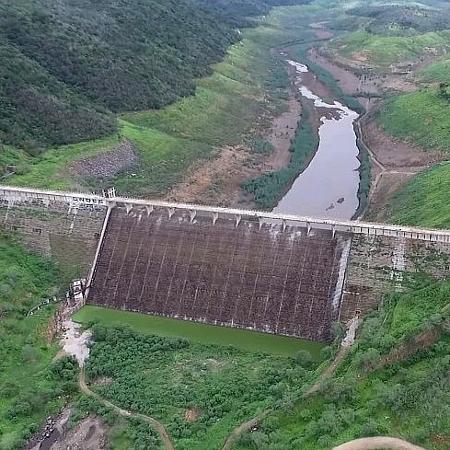 Barragem de Jucazinho, em Surubim (PE) - Divulgação/Compesa