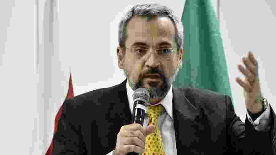 O ministro da Educação, Abraham Weintraub - Rafael Carvalho/Governo de Transição