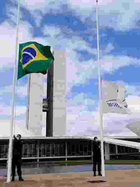 bandeira meio mastro - Roque Sá/Agência Senado - Roque Sá/Agência Senado